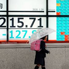 Stocks - S&P Slips as Virus Fears Persist, Fed Stands Pat on Rates