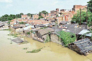 Floods, coronavirus hobble two of India's poorest states