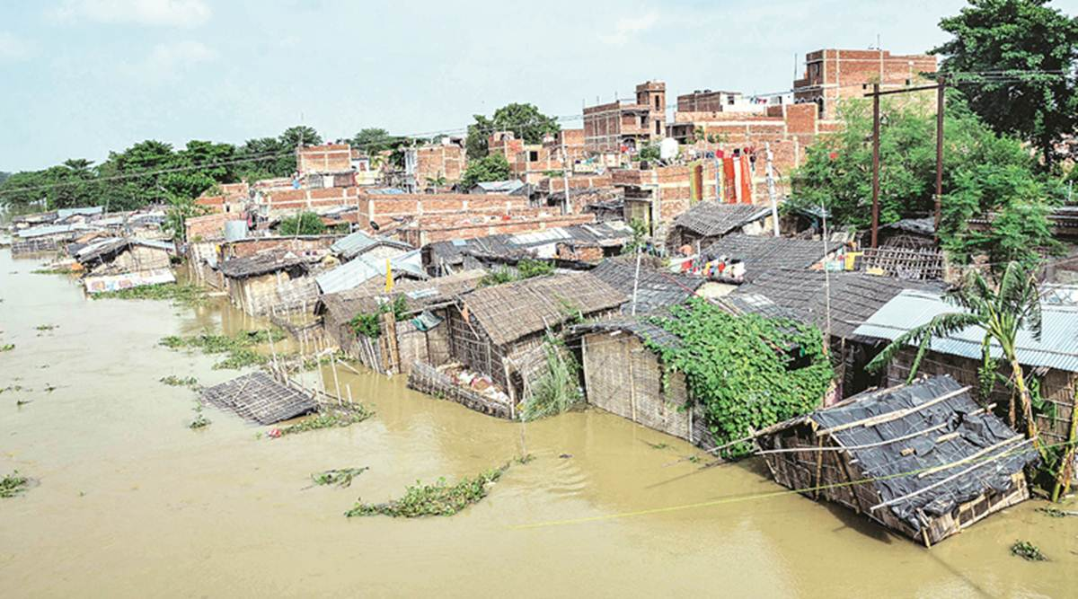 Floods, coronavirus hobble two of India's poorest states